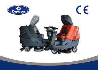 Dycon Three Wheels Plastic Material Ride Type Four Batteries Powered Floor Scrubber