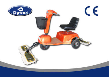 Customized Color Dust Cart Mopping Scooter Electric Expoxy Floor Sweeper
